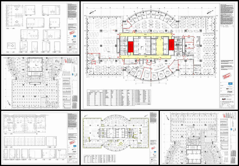 Tender Information Production : selected drawings