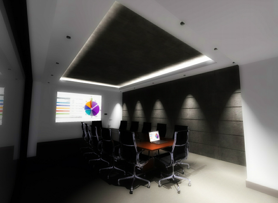 3d Visualisations : Board Room