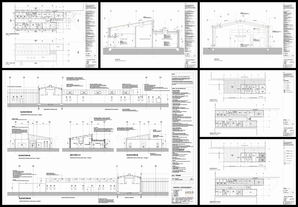 Drawing Information Production : Selected sheets