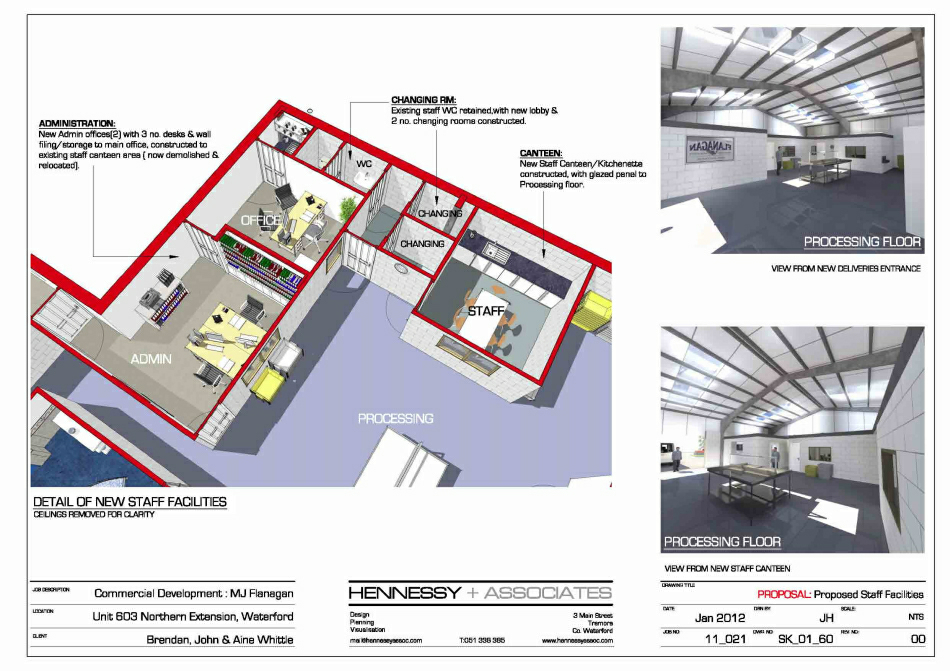 Scheme Design : Office Layout