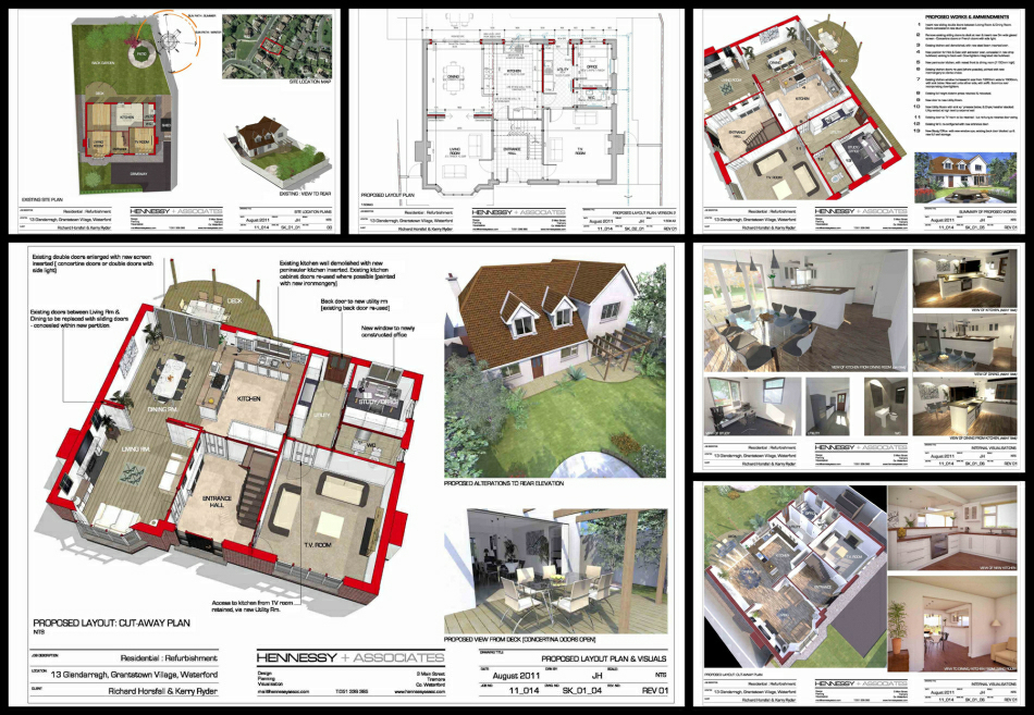 3d Visulaisations & Scheme Design