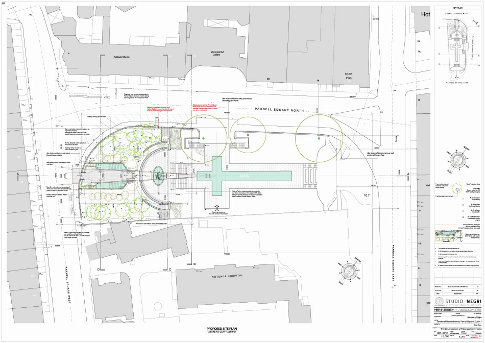 Planning Application : Site Plan