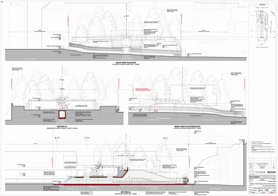 Planning Application : Sections & Elevations