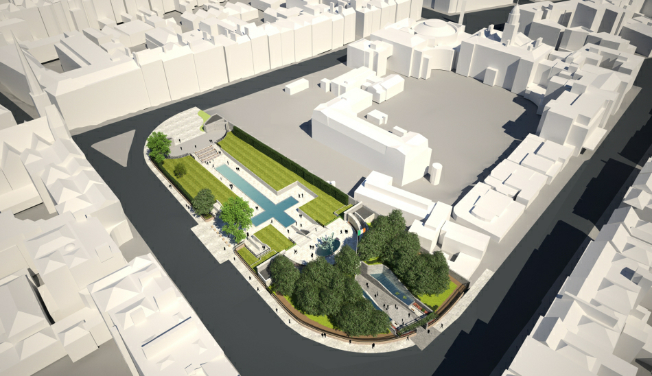 Isometric View : From Parnell Square North West