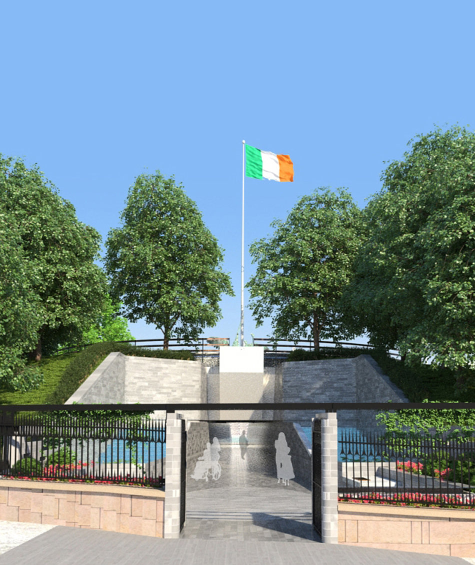 3d Visualisation : View from Parnell Square West