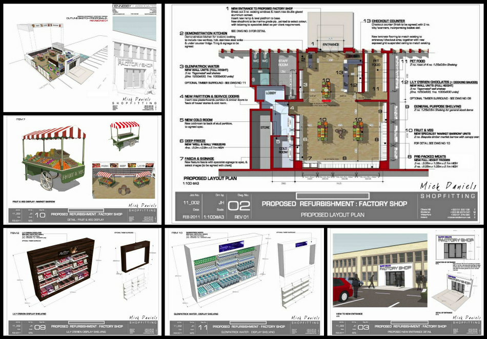 Architecture Design Presentation Sheets 3d-modelling archives - hennessy associates