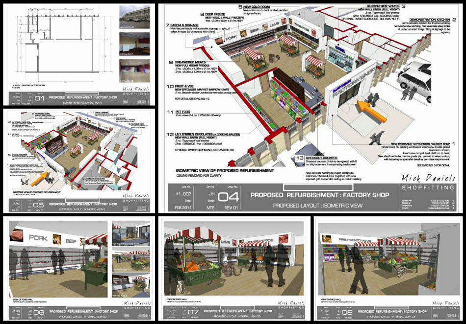 Scheme design presentation : Sheet 01