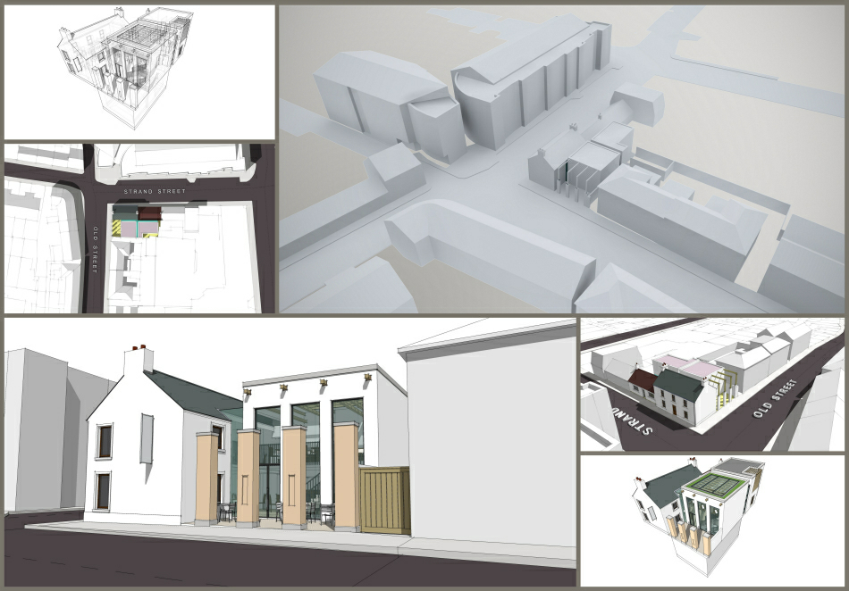 Scheme development design & visuals