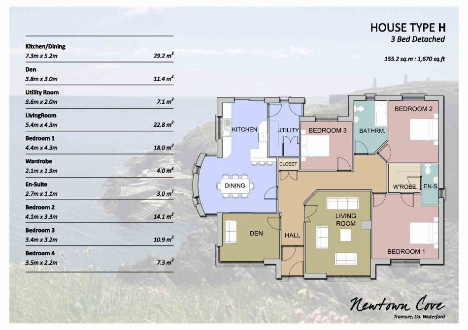 Newton Cove: Brochure Insert : House Type G