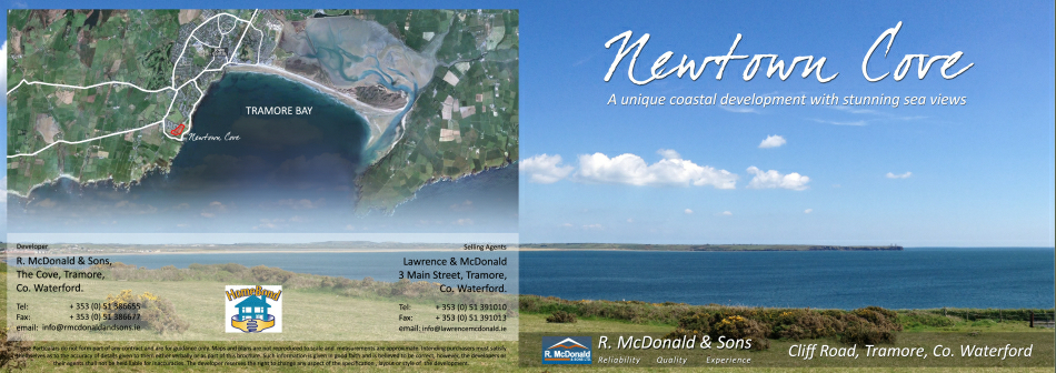 Newton Cove: Brochure design : Cover