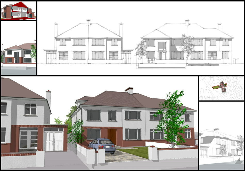 Sketch Design : Elevations