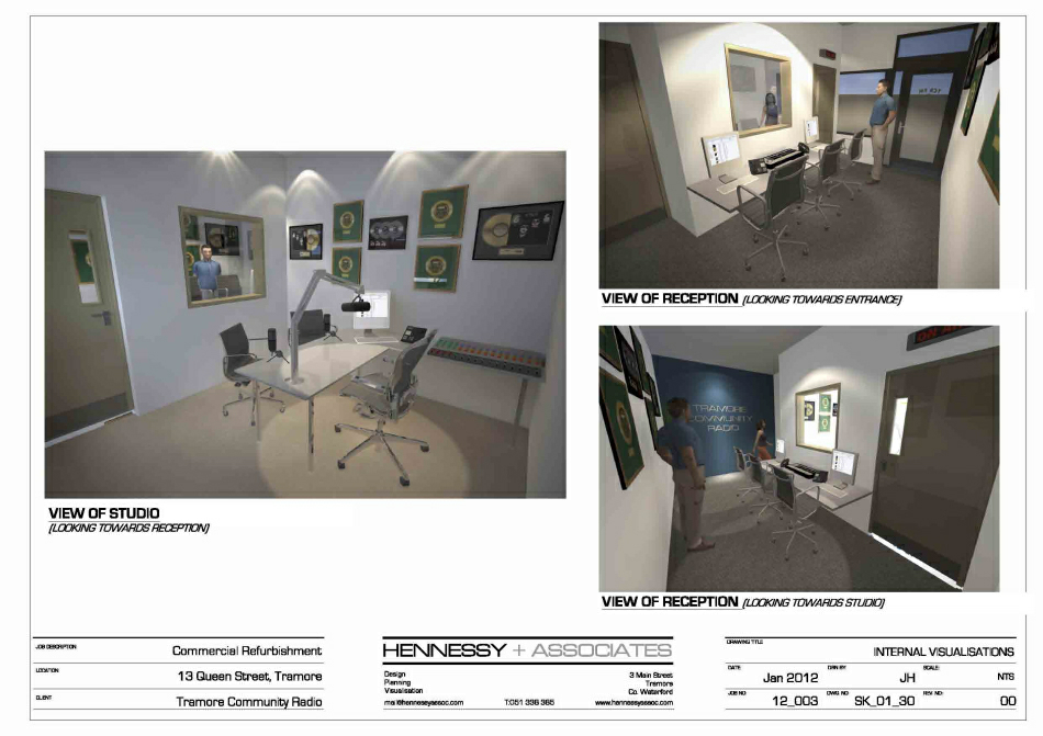 3d Visualisations : Internal shots