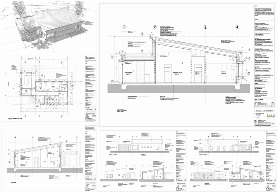 Select tender drawings