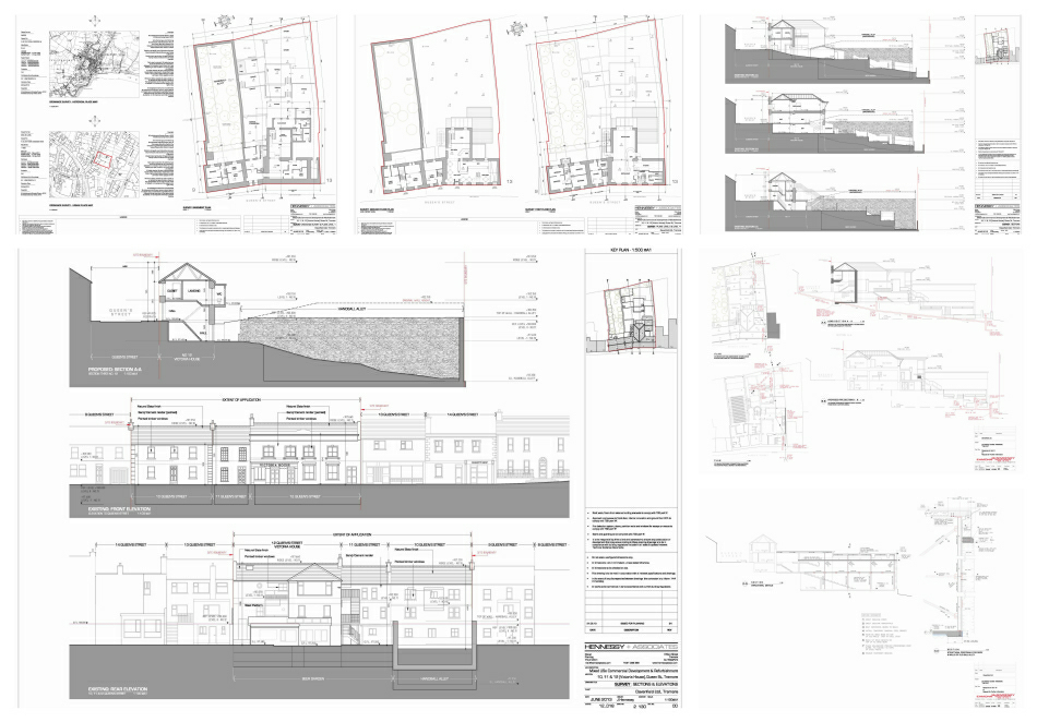 Selected planning Drawings