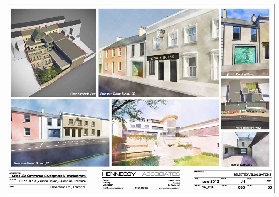 Selected Planning Application Visualisations